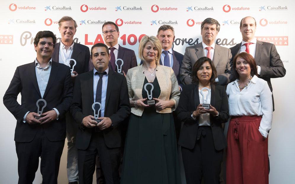 CaixaBank DayOne recoge el Premio a las 100 mejores ideas