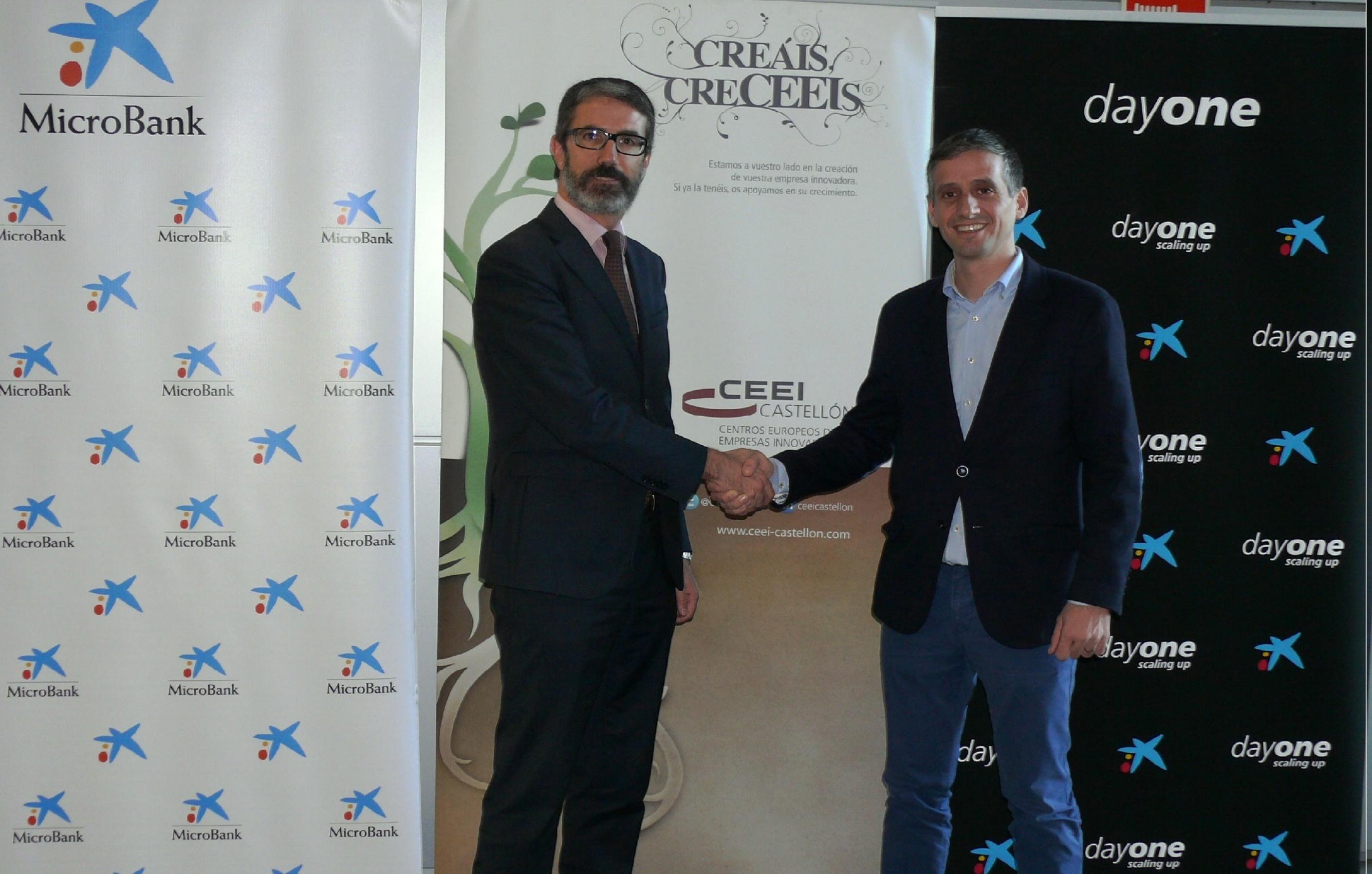El Centro Europeo de Empresas Innovadoras de Castellón y MicroBank
