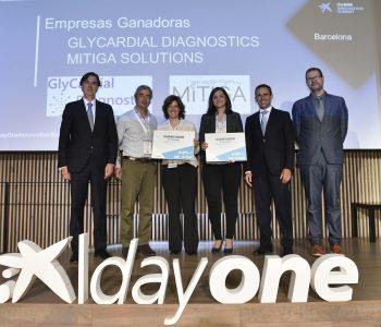 Las empresas GlyCardial Diagnostics y Mitiga Solutions ganan los Premios EmprendedorXXI en Cataluña