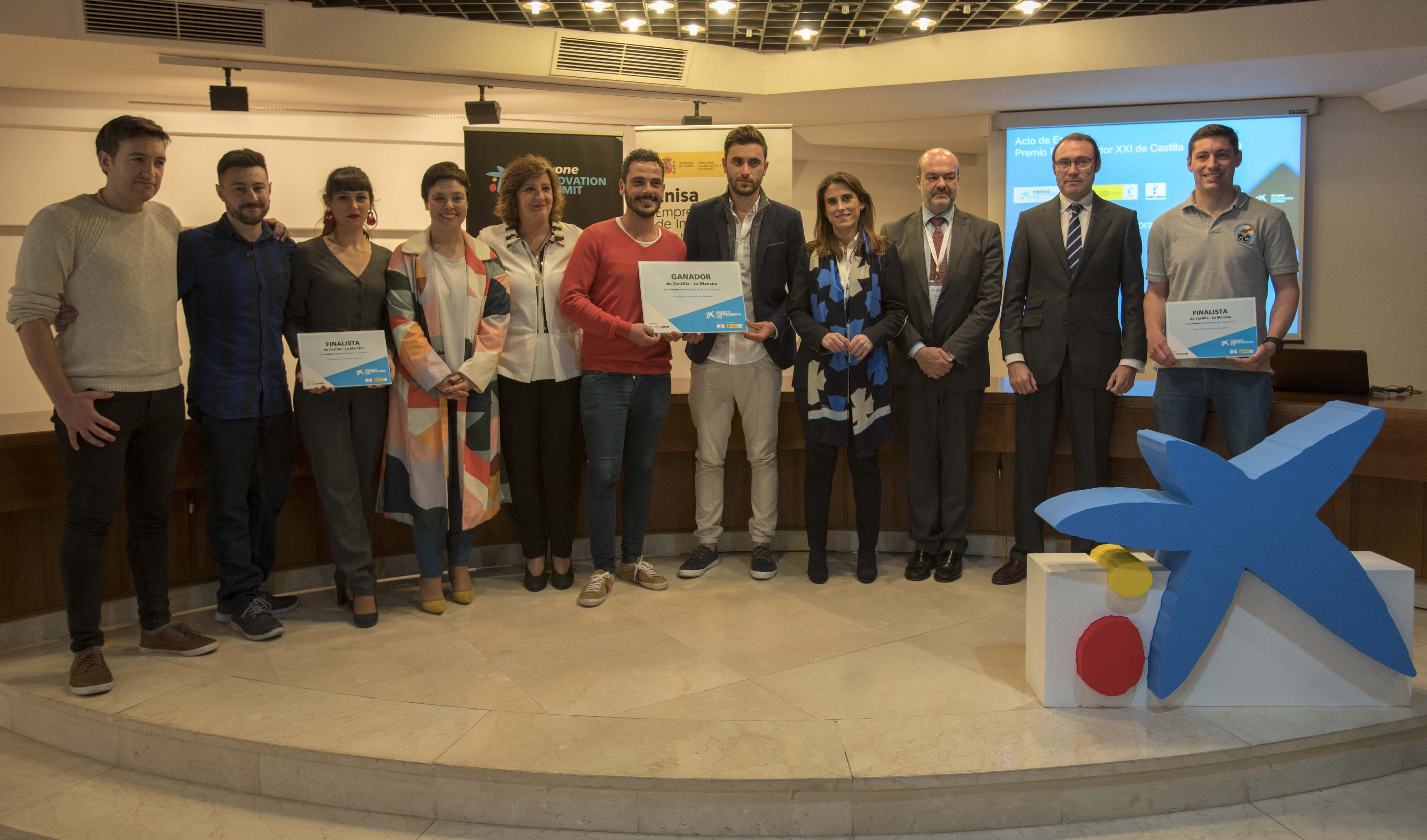 L'empresa XUQ guanya els premis EmprenedorXXI a Castella-la Manxa
