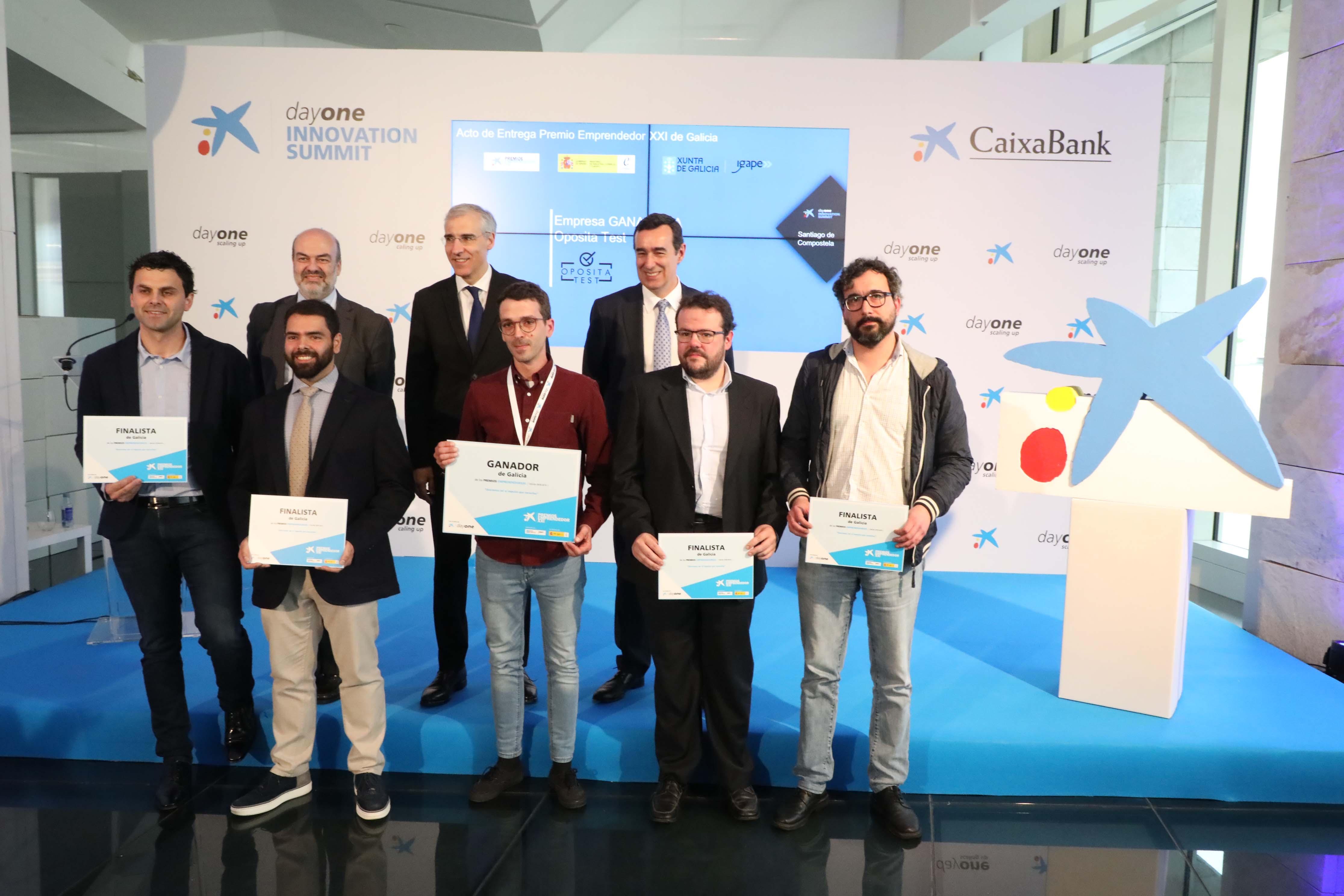 L'empresa OpositaTest guanya els premis EmprenedorXXI a Galícia