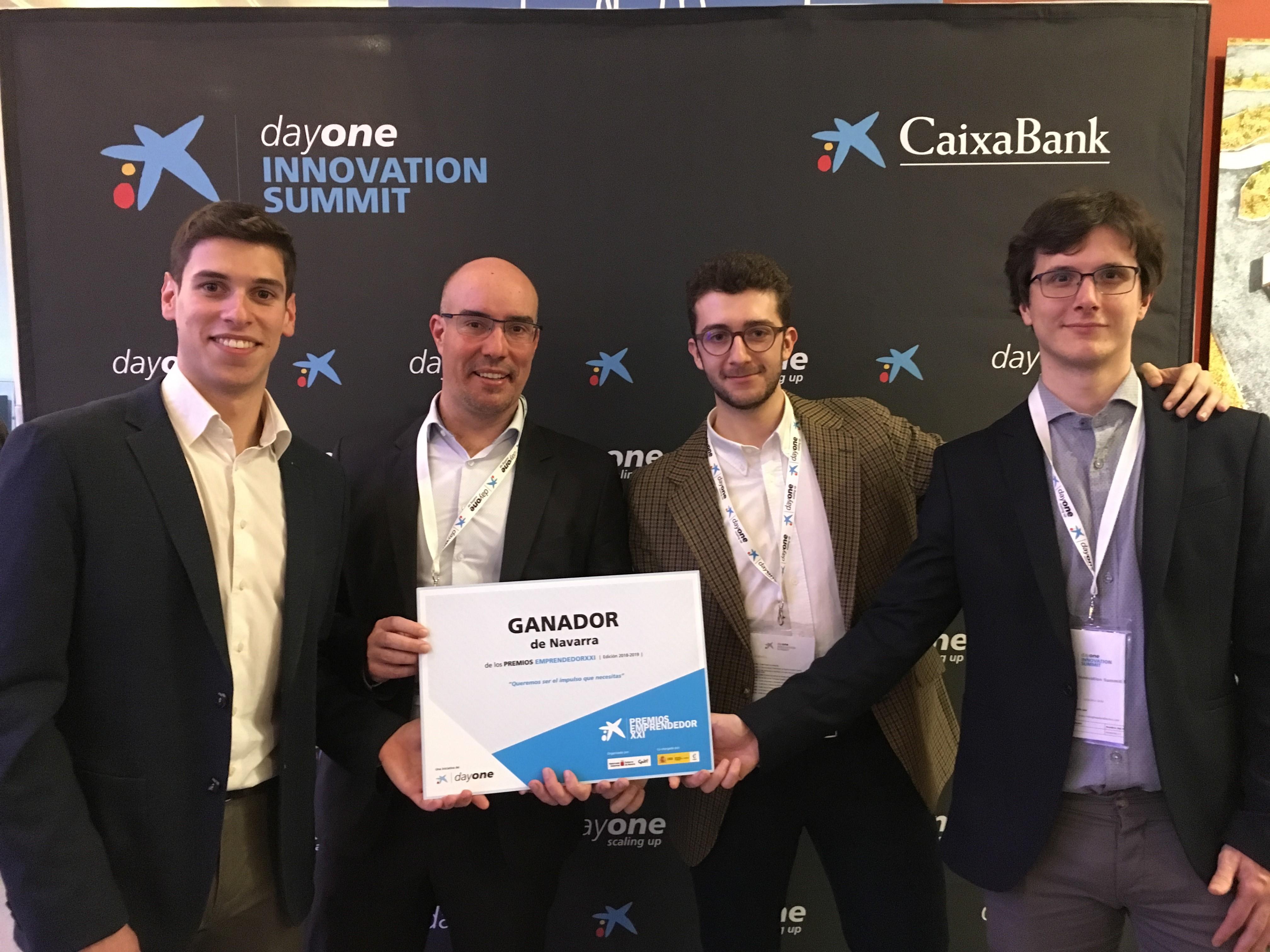 Jon Asín, gerent de BeePlanet Factory, l'empresa que dona una segona vida a les bateries i guanyadora dels Premis EmprenedorXXI a Navarra