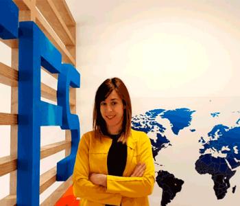 Carolina Vilas, CEO de Titan Fire System, guanyadora dels Premis EmprenedorXXI a Aragó.