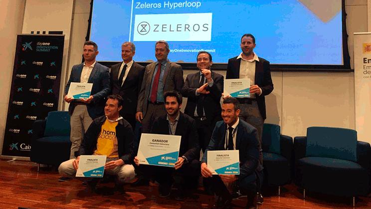 Juan Vicén, cofundador y CMO de Zeleros, empresa que desarrolla el sistema de transporte Hyperloop en España, ganadora de los Premios EmprendedorXXI en la Comunidad Valenciana.
